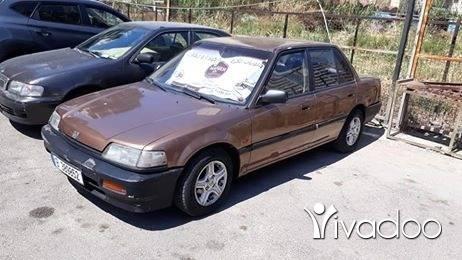 Honda dans Tripoli - Aboud boss