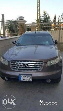 Infiniti in Mharam - Infiniti FX35 technology 2004 very clean in and out 133,000 km only