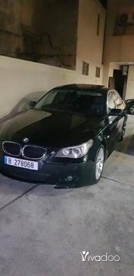 بي ام دبليو في طرابلس - BMW 530i
