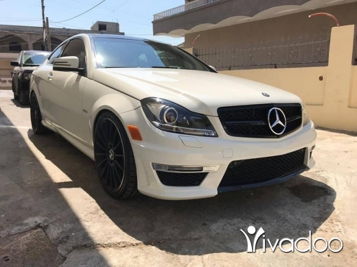Mercedes-Benz in Beirut City - C350 kit 63 2012