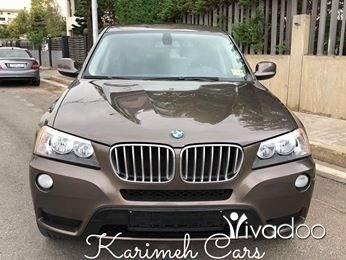 BMW in Tripoli - BMW X3 2011