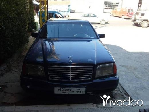 Mercedes-Benz in Chtaura - مرسيدس شبح موديل ٩٢ 500