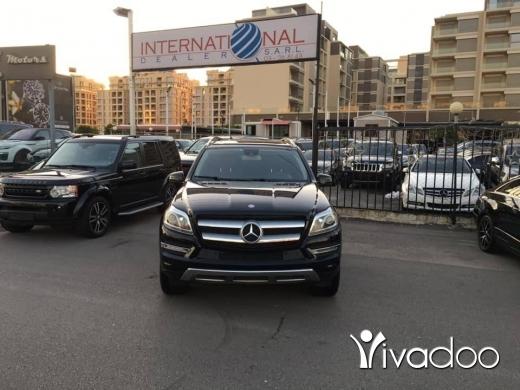 Mercedes-Benz in Port of Beirut - Mercedes GL450 2013