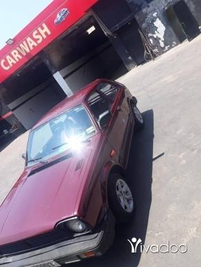 Honda in Port of Beirut - هوندا سيفيك 1982 منفوضة بالكامل..