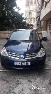 Nissan in Beirut City - نيسان تيدا موديل ٢٠١٠ بحالة جيدة جدا