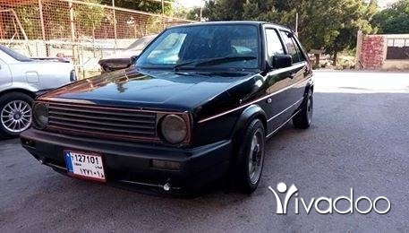 Volkswagen in Tripoli - Golf GTI 1987