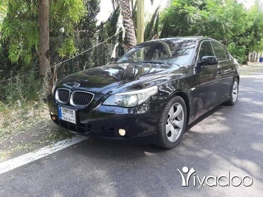 BMW in Beirut City - BMW 530 I 2006 FULL black black clean 03084610