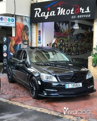 Mercedes-Benz in Beirut City - Mercedes-Benz C300 2011