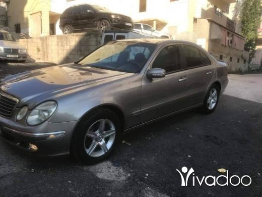 Mercedes-Benz in Beirut City - Mercedes E320 2004