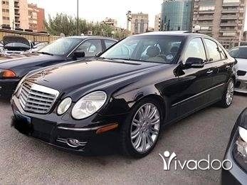 Mercedes-Benz in Tripoli - For sale mercedes E350 model 2007 full option supper ndifi