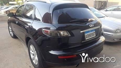 Infiniti in Tripoli - Car