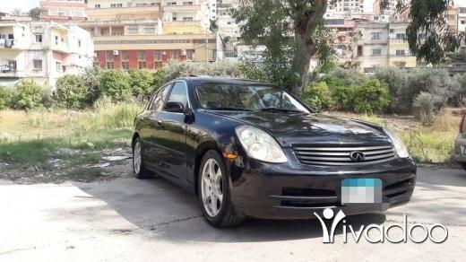 Infiniti in Beirut City - g35 2004