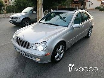 Mercedes-Benz in Zgharta - C 230 mod 2004 sport (4 cylindre 259 km/20litre