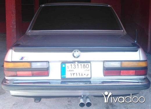 BMW in Baalback - Bmw 520 model 1987 super jamel wnadafe enkad