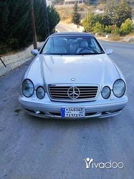 Mercedes-Benz in Aley - Mercedes clk 320 kashef full option mod 2001 look 2004 seyaret Bayet