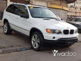 BMW in Tripoli - X5 model 2002 moter vites