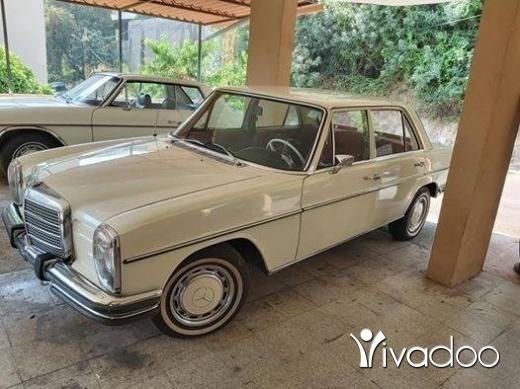 Mercedes-Benz in Beirut City - Mercedes collection car 1970