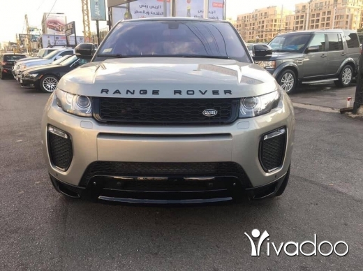 Land Rover in Beirut City - range rover Evoque Dynamic 2013