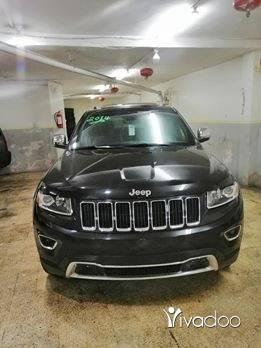 Jeep in Beirut City - GRAND CHEROKEE 2014 V6 LIMITED 4X4 سياره شركه تحت الفحص اسود اسود