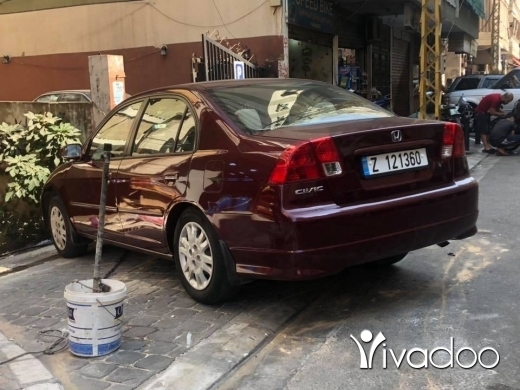 Honda in Beirut City - Honda Civic 2004 Super Clean Super New