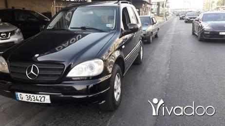 Mercedes-Benz in Beirut City - Mercedes ml modell 2000 mfawal alb aswad phone