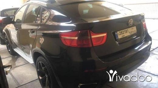 BMW in Beirut City - X6 2009 50i twin turbo (106000mile) 70455414 ميكانيك وحديد كل شي نظيف.امكانية الفحص