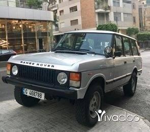 Rover in Achrafieh - Range rover 1984
