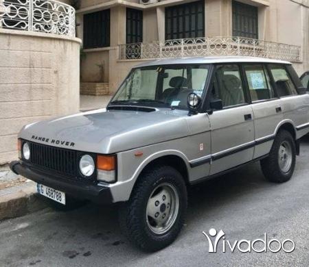 Rover in Achrafieh - Range rover 1989