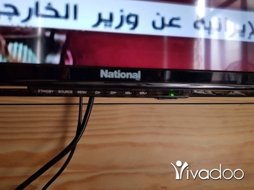 Appliances in Bourj el Barajneh - Smart 50 inch National Pro 4K tv used 2 minths