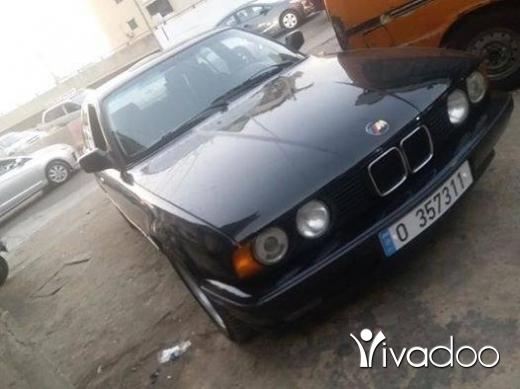 BMW in Beirut City - بي ام 525موديل 89اوتوماتيك موتير فتايس جداد وتحت الفحص