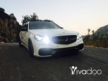 Mercedes-Benz in Tripoli - E550 mod 2011 look 2016