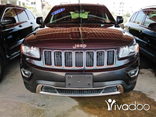 Jeep in Dahr el-Ain - Grand cherokee