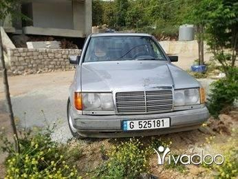 Mercedes-Benz in Tripoli - مرسيدس ٢٣٠ صندوق ٣٠٠ مفوله