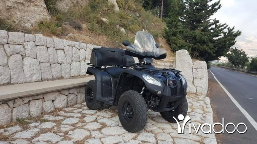 Aprilia in Port of Beirut - ATV KYMCO 500CC 2017 RODAGE ( BY YAMAHA )