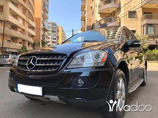 Mercedes-Benz in Tripoli - Mercedes ML 350 modell 2007 full