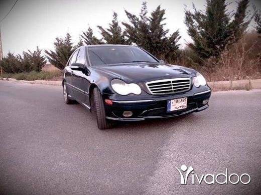 Mercedes-Benz in Beirut City - C230/2005 (4cylinder)ميكانيك وحديد كل شي نظيف.امكانبة الفحص بالكامل.70455414