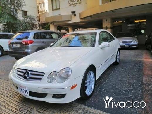 Mercedes-Benz in Beirut City - CLK 350 2009 CLEAN CAR FAX سياره شركه بالنظافه اجنبيه السعر النهائي