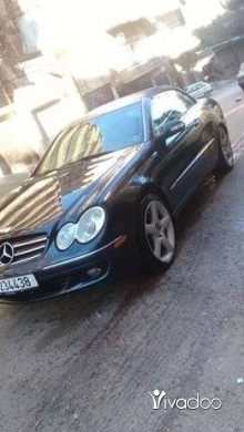 Mercedes-Benz in Tripoli - Clk 350 model 2008 المانية