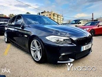 BMW in Beirut City - 2011 bmw F10 528i black. M pkg