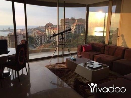 Apartments in Beirut City - للبيع شقة ٤٠٠ م في ساحل علما مواصفات فيلا كاشفة البحر منظر خيالي لا يحجب أبدا تل 81894144