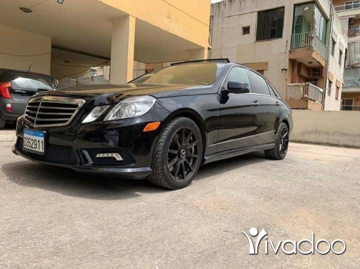 Mercedes-Benz in Beirut City - Mercedes Benz E 550 بداعي السفر