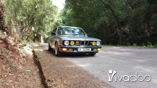 BMW in Tripoli - Bmw525