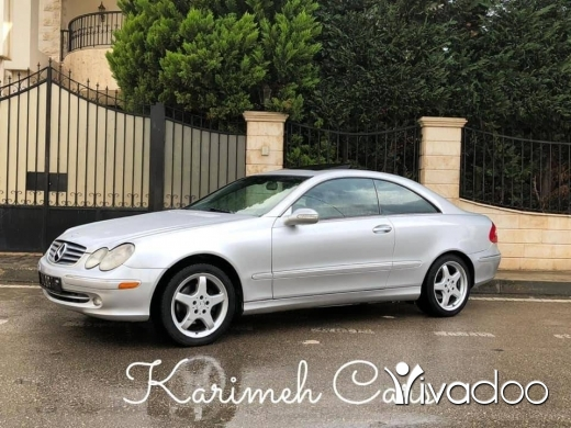 Mercedes-Benz in Beirut City - Mercedes CLK; 2004;