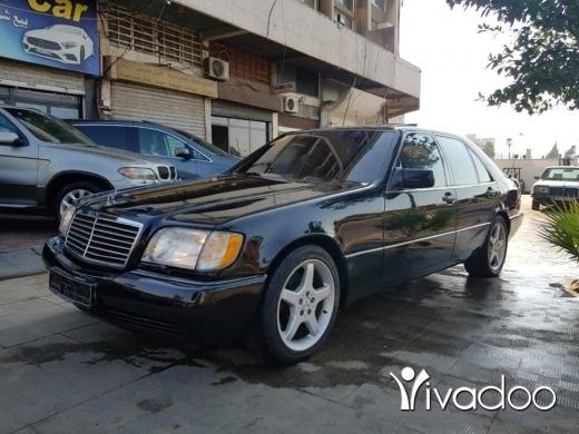 Mercedes-Benz in Beirut City - S500 model 92