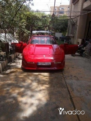 Porsche in Beirut City - Porch
