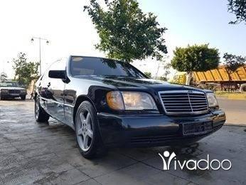 Mercedes-Benz in Tripoli - S500 model 92 moter vites