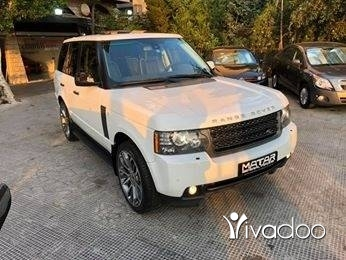 """Rover in Tripoli - 2011 range rover vogue luxury clean carfax white/brown 22"""""""