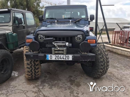Jeep in Port of Beirut - Wrangler tj 2003