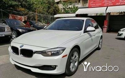 BMW in Saida - Bmw 328i model 2012 white/beige