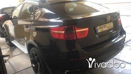 BMW in Beirut City - Bmw x6(50i twin turbo) 2009